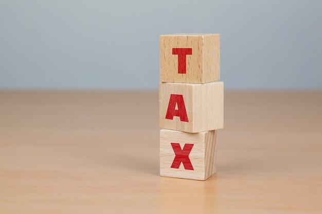 Блоки налогового слова