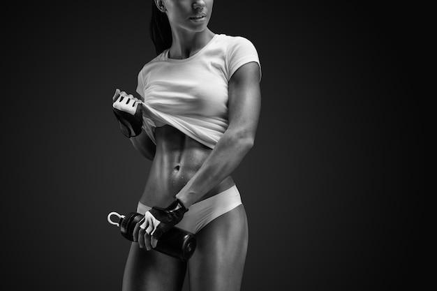 Красивое стройное здоровое тело
