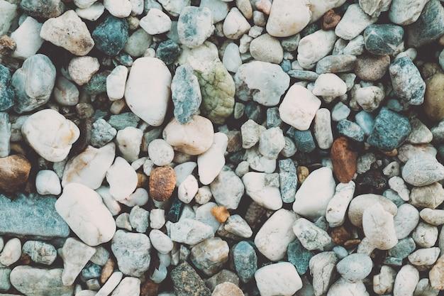 美しい砂利のヴィンテージの自然の背景。自然のパターン