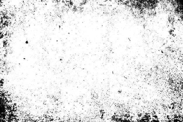 抽象的な汚れや経年劣化のフレーム。ほこりの粒子やほこりの粒子の質感や汚れのオーバーレイは、テキストまたはイメージのスペースとビンテージグランジスタイルのフレームの効果を使用します。