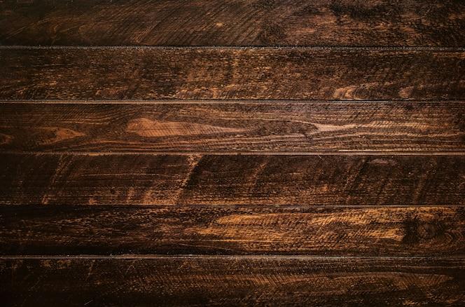 茶色の木の板のテクスチャ
