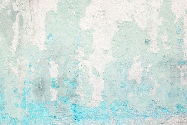 グランジコンクリートのテクスチャの背景、ヴィンテージグリーンの色調