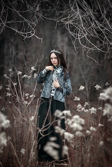 妖精の森の暗い女王