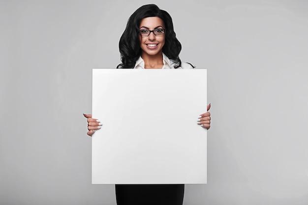 Портрет счастливой деловой женщины