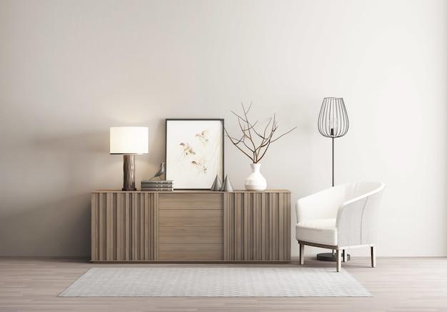 Новый китайский стиль ретро интерьер дома фон