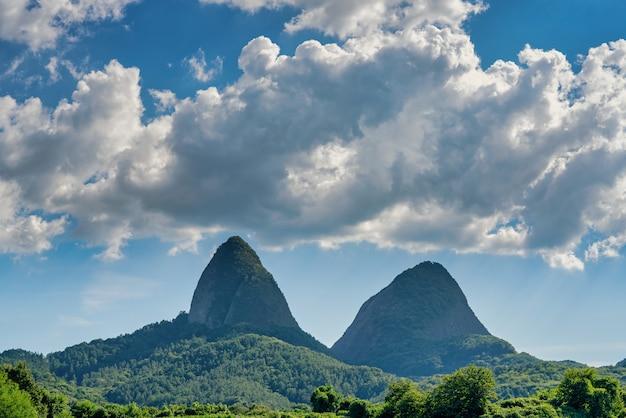 Май-сан, знаменитая гора в южной корее