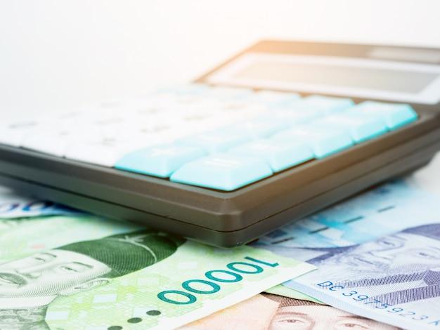 Южная корея выиграла макро банкнот валюту с калькулятором, корейские деньги