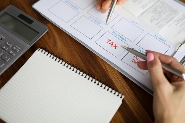 Выполнение налогового бизнес-плана
