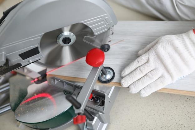 ソーイング用バイス付き大工クランプラミネート