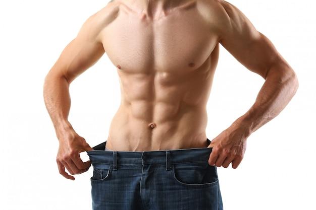 Атлетик сложенный мужчина для похудения тема очень