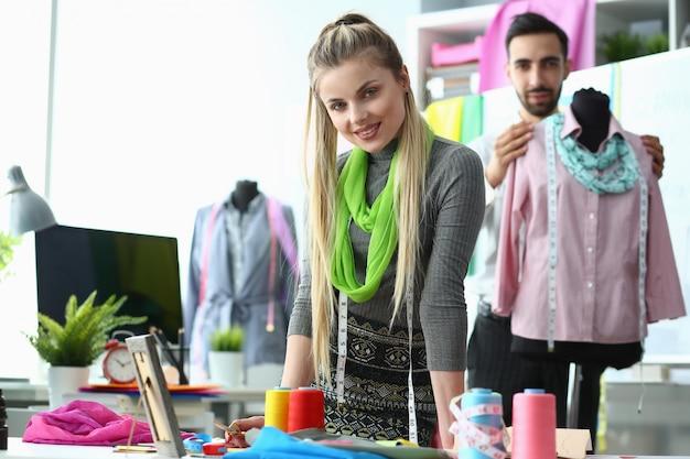 Процесс дизайна одежды создание стильной одежды