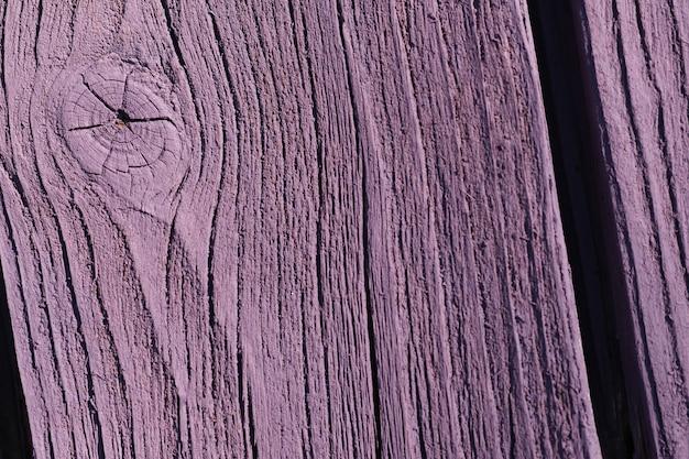 バイオレット色の木の板の背景