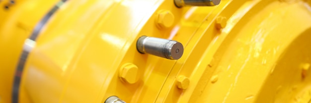 一部のマシンまたはステーションの認識できない黄色の行部分