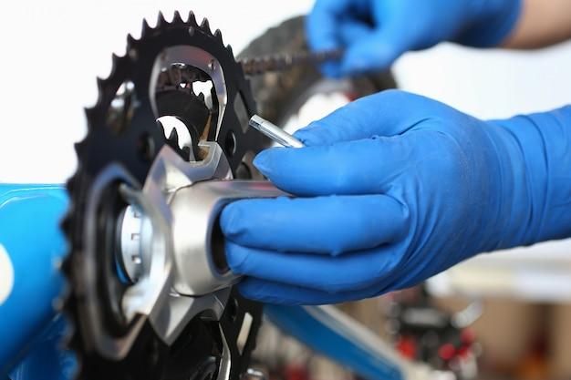 個人用車両の修理機構、詳細の接続