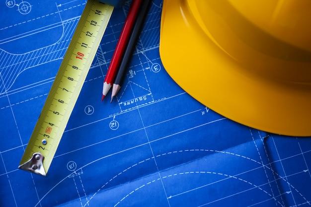 建物のエンジニアリング設計図