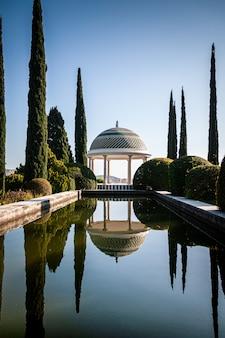 Малага ботанический сад пруд и набережная