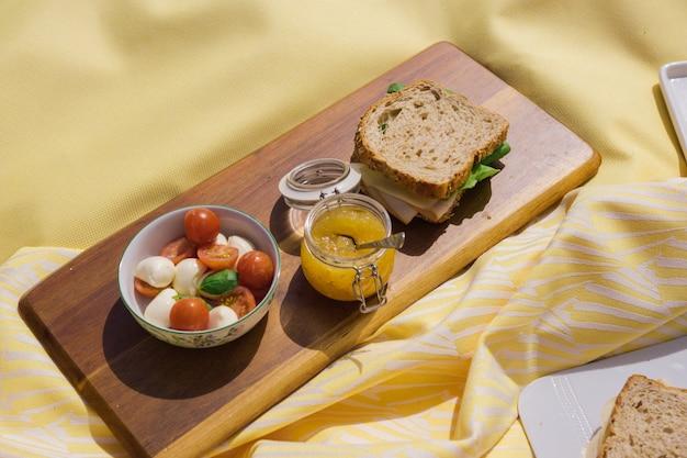 黄色いピクニック