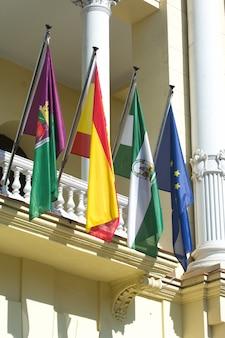 スペイン、マラガの市庁舎宮殿
