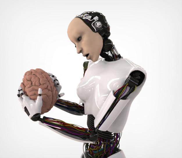 Гуманоид с мозгом