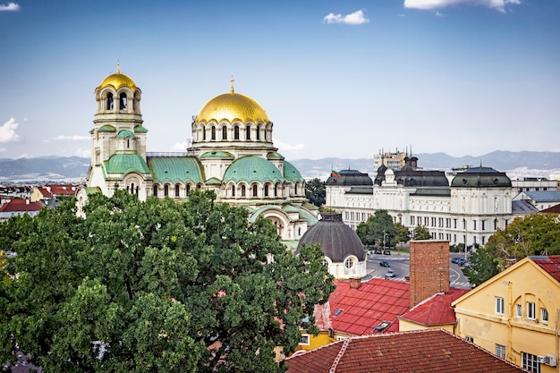 ソフィア、ブルガリアのパノラマ景観