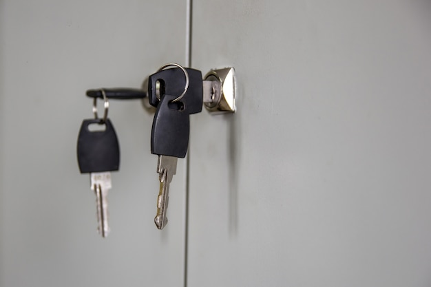 ロックロッカーのキー