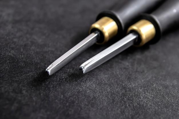 Инструменты для обработки кожи и производства кожаных изделий