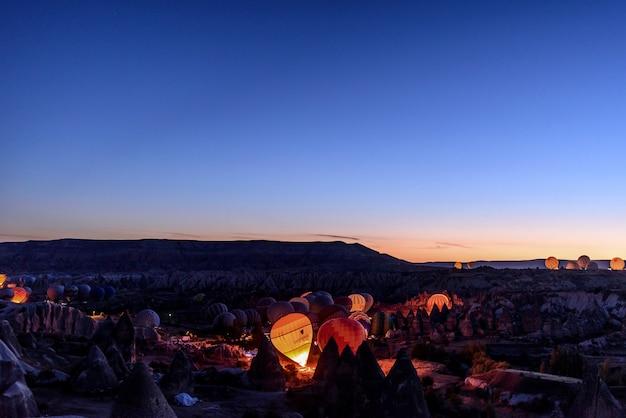 カッパドキアトルコの熱気球