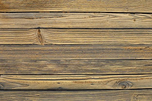 Старые коричневые деревянные доски