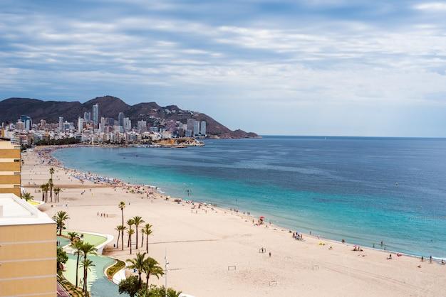 ベニドームスカイラインビーチ風景