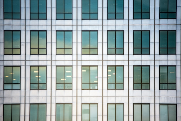市内中心部の高層ビル