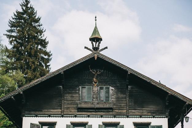 古いオーストリアの建物