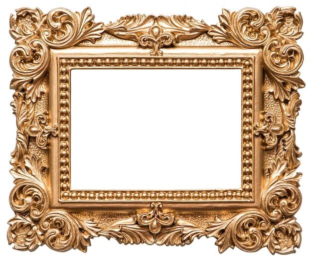 バロック様式の金色額縁