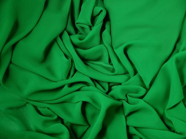 緑の抽象的な布