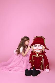くるみ割り人形と美容バレリーナ