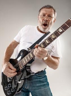 ギター奏者の肖像