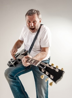 Портрет гитариста
