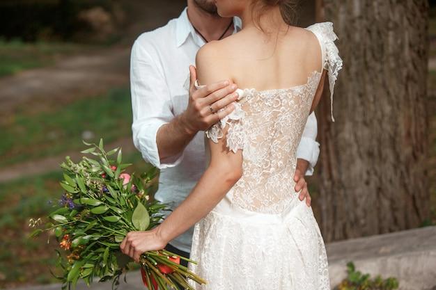自由奔放に生きるスタイルの結婚式の装飾