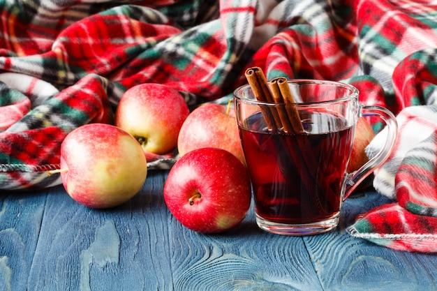 心地よい秋のホットドリンク、ホットワイン