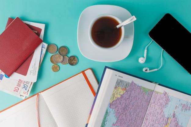 カップルのための旅行プレーニング