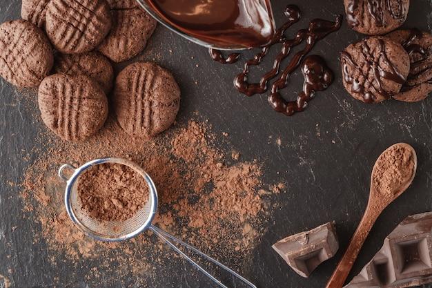 Молочный шоколад с какао.