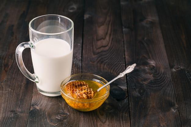 牛乳と蜂蜜