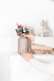 クリスマスツリーのクリスマスの装飾