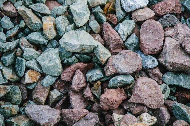Фон из каменных камней