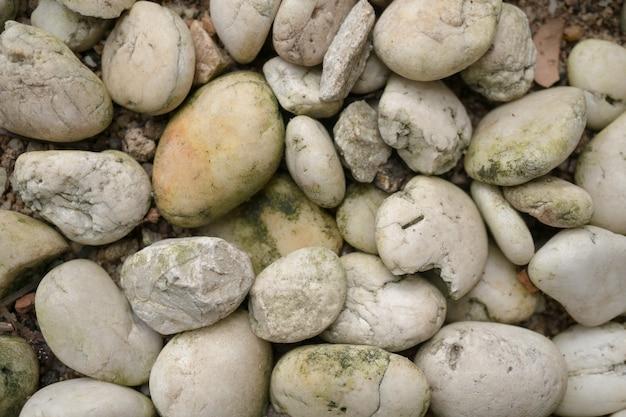 小さな石のテクスチャの背景