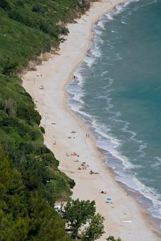 Пляж меццавалле