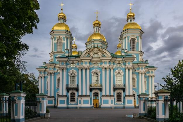 Никольский военно-морской собор в санкт-петербурге