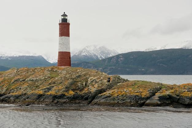 ビーグル海峡の灯台レ・エクレール