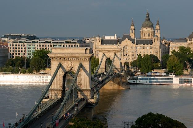 Цепной мост в будапеште