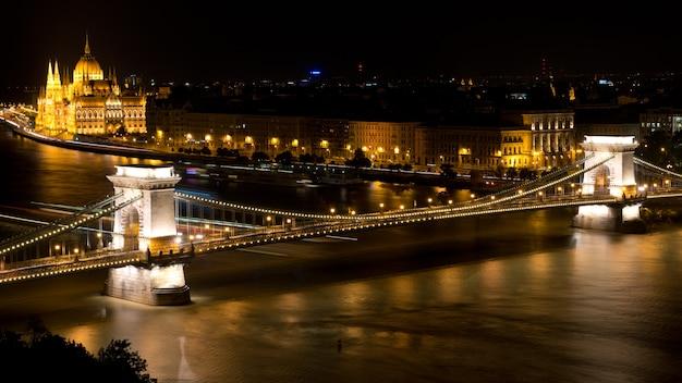 ブダペストの鎖橋