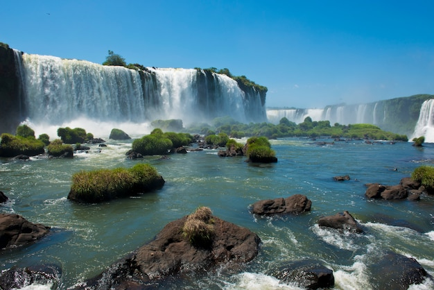 イグアスの滝のガルガンタデルディアブロ